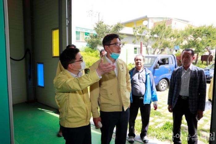 (포토뉴스)김철우 보성군수, 여름철 자연재난 대비 주요 시설 현장 점검.JPG