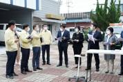 순천시의회, 코로나19 선별진료소 격려 방문