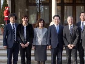김 지사, 스페인 바스크서 COP28 유치 논의